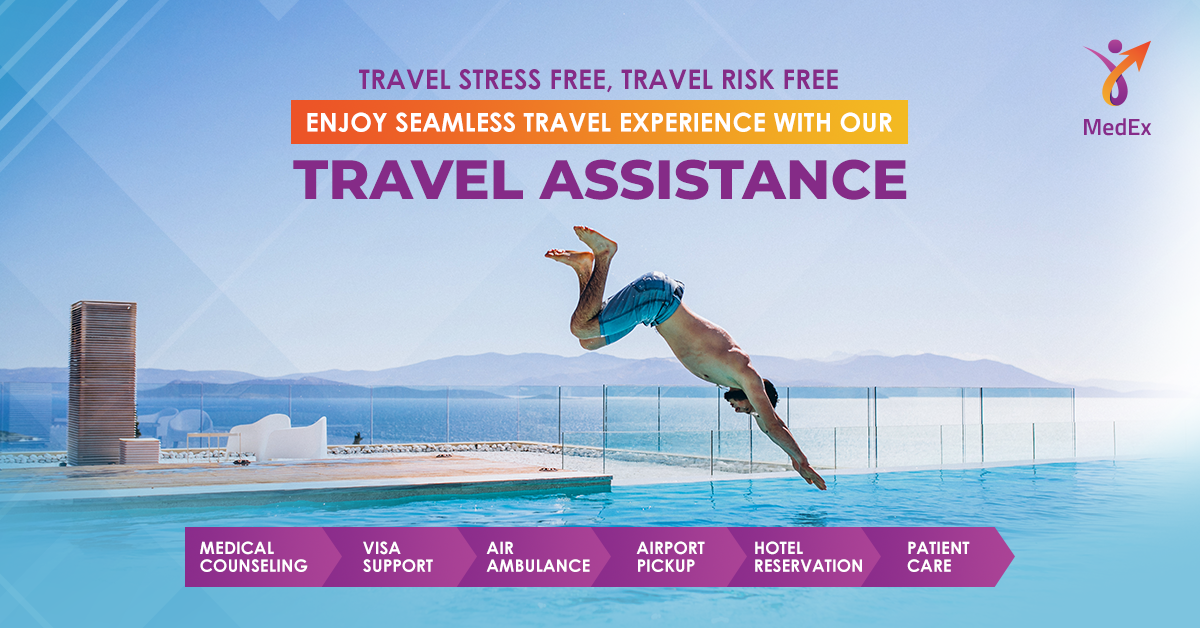 MedEx offers Express COVID-19 Testing, Travel Insurance, and Assistance Services for Travelers ensuring a Seamless Travel Experience